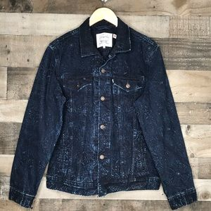 Levi's Made & Crafted Embroidered Trucker Jacket L
